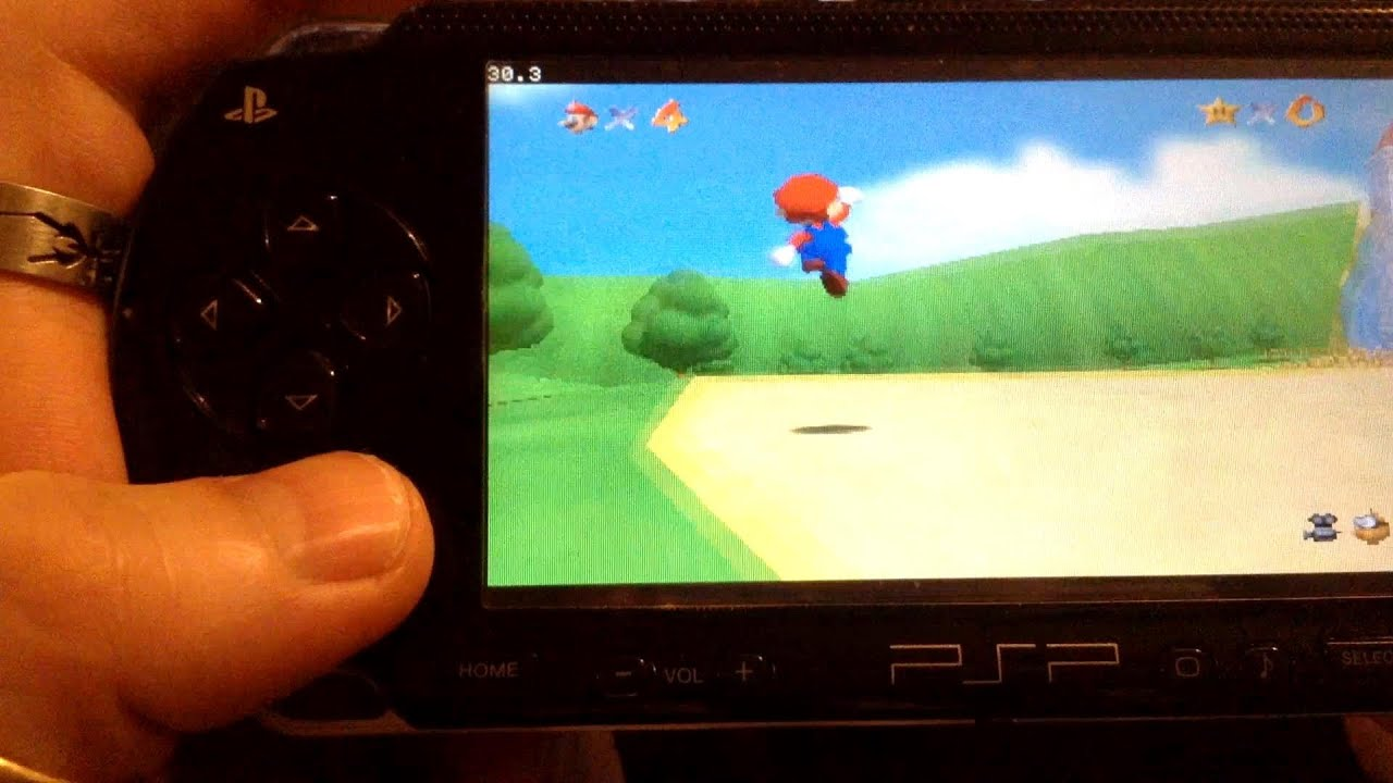 Psp N64 emulator