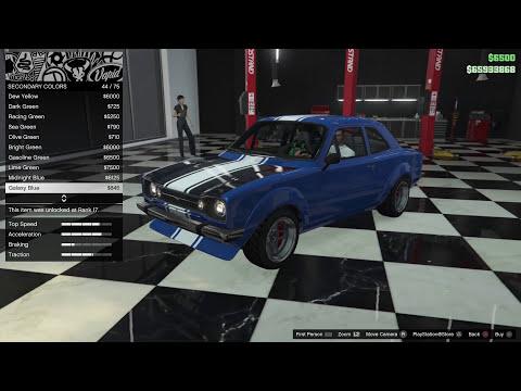 GTA 5 DLC Vehicle Customization (Vapid Retinue)