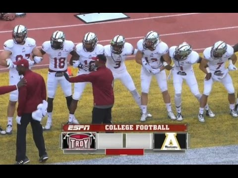Must see! Troy vs Appalachian State Week 9 College Football 2015