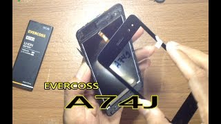 Cara Ganti Touchscreen Evercoss A74J/A74C Dengan Benar