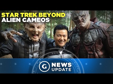 Star Trek Beyond Director Teases Alien Cameos with On-set Image - GS News Update