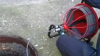 видео Гидродинамическая прочистка канализации: машины, оборудование для работ