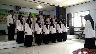 Paduan suara MTs N 1 Banjarnegara II HAB KEMENAG Kab. Banjarnegara 2019
