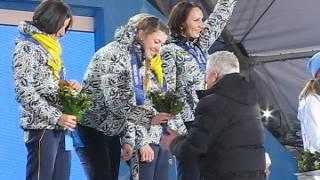 """Украинские биатлонистки получают """"золото"""" в Сочи"""