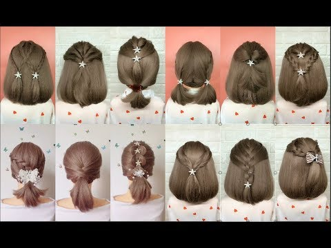 Top 30 Amazing Hairstyles For Short Hair Best Hairstyles For Girls Youtube