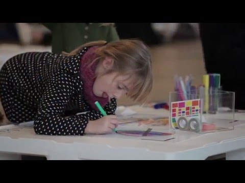 Animated Colouring Book - The Fondation Louis Vuitton