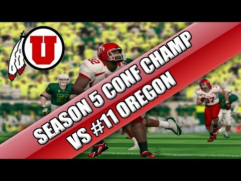 ncaa-football-15:-utah-dynasty-s5-conference-champ-vs-#11-oregon