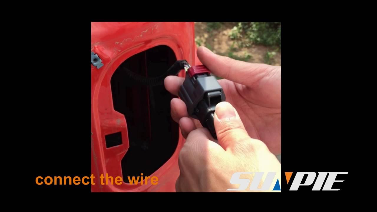 Sunpie Led Tail Light Installation For Jeep Wrangler Jk Youtube Lights Wiring