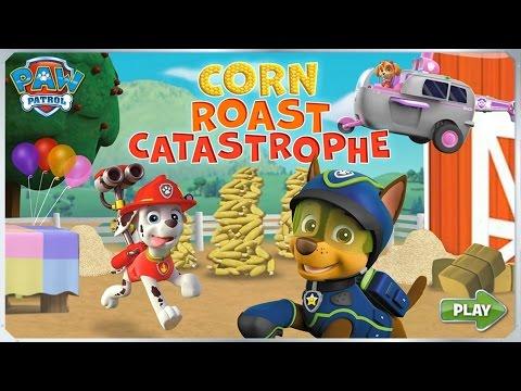Paw Patrol Pups - Full Episode Corn Roast Catastrophe!