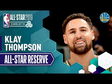 Klay Thompson 2019 All-Star Reserve | 2018-19 NBA Season
