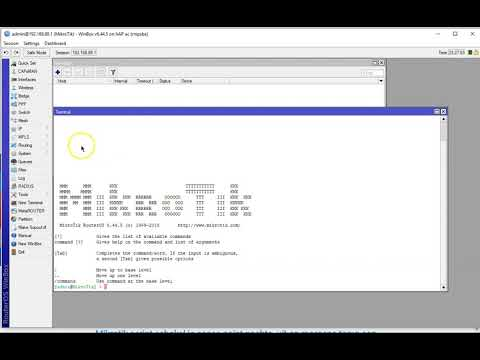 Mikrotik wireless on off script by point to point link