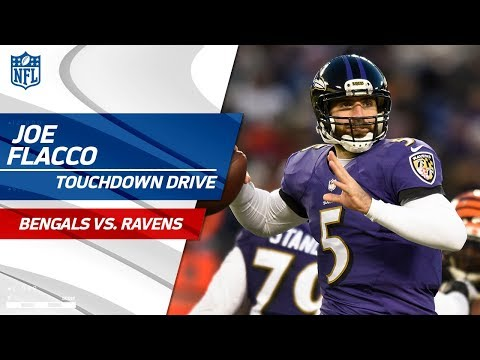 Joe Flacco Guides Baltimore on TD Drive to Take the Late Lead! | Bengals vs. Ravens | NFL Wk 17