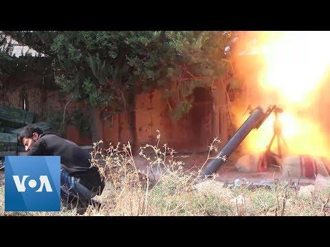 Turkish Military Attacking Til Tamir, Syria