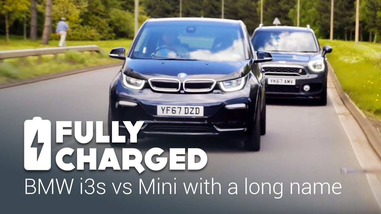 Bmw I3s Vs Mini With A Long Name Fully Charged Youtube