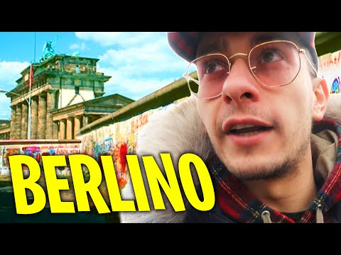 HO VISITATO IL MURO DI BERLINO CON SURRY !!
