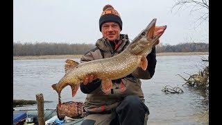 Рыбалка с Ночёвкой ЩУКА ПЕРЕД НЕРЕСТОМ На что ловить щуку весной 1 часть