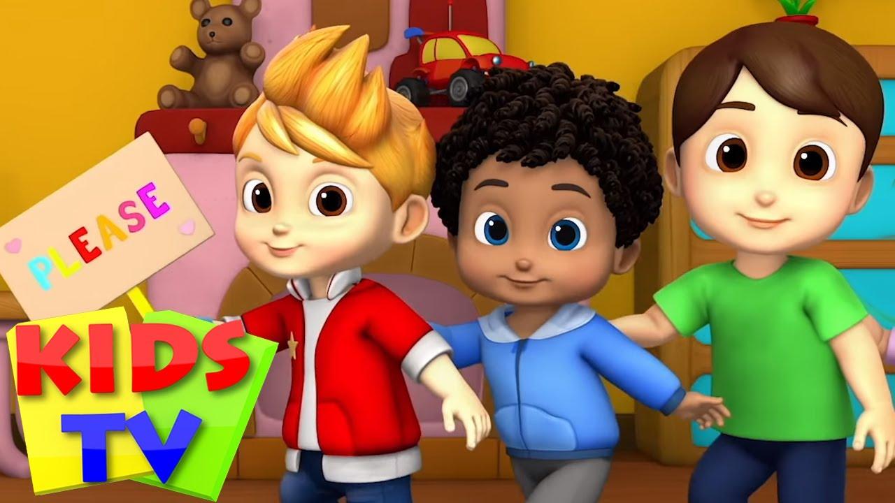 Lütfen ve teşekkür ederim   Eğitim karikatürler   Kids TV Türkçe   Okul öncesi   Tekerlemeler