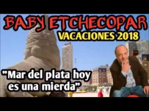 BABY ETCHECOPAR - VACACIONES 2018, SOBRE MAR DEL PLATA