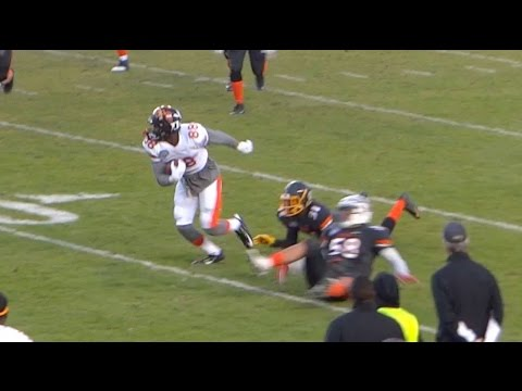 Jordan Williams #88 Leads All Receivers 2016 NFLPA Senior Bowl