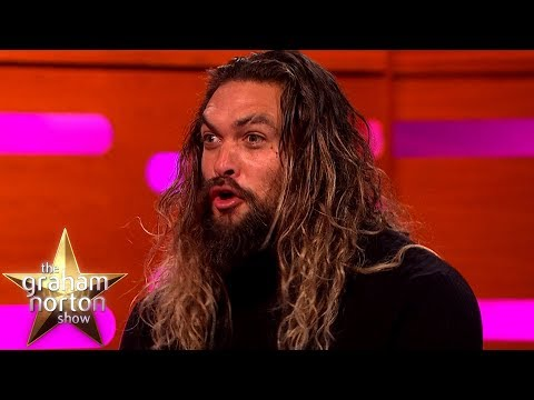 Jason Momoa Wows Hugh Grant With Some Dothraki  The Graham Norton