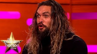 Jason Momoa Wows Hugh Grant With Some Dothraki  The Graham Norton Show