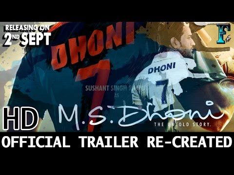 M.S.Dhoni - The Untold Story | Official...
