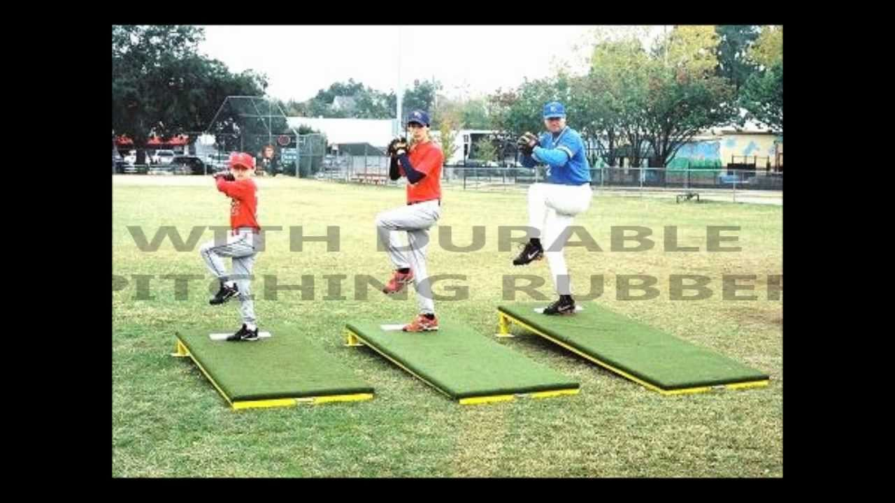 How To Build A Portable Pitching Mound >> PITCHING MOUND (713) 777-4559 - YouTube