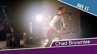 Chad Brownlee, July 15 2015