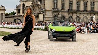 электрокар Volkswagen ID. Buggy, конкурс авто, обзор концептов электроавто, выставка электрокаров