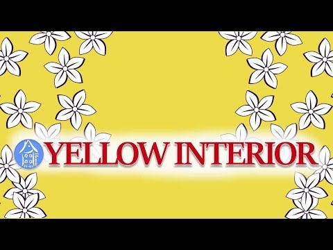 💗 Interior Color | Yellow Room Design – Lovely Yellow Home Decor Ideas