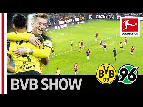 Borussia Dortmund vs. Hannover 96 I 5-1 I Reus Show and Sancho Assists