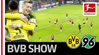 Borussia Dortmund vs. Hannover 96 I 5-1 I Reus Show and Sancho Assists