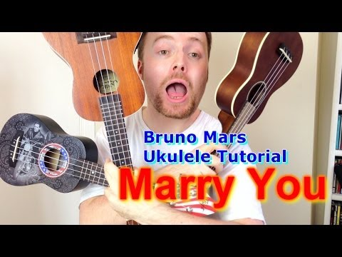 Marry You - Bruno Mars (Ukulele Tutorial)