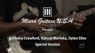 Anthony Crawford, Katsuji Morioka, Dylan Elise Special Session
