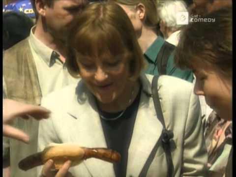 Die Harald Schmidt Show - CDU Vorsitzende Angela Merkel