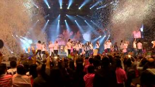 All SM artist at ending SMTown in new york, HOPE