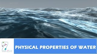 PHYSICAL PROPERTIES OF WATER_PART 01