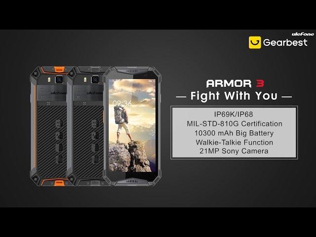 Ulefone Armor 3 4G 5 7 inch Phablet Phone