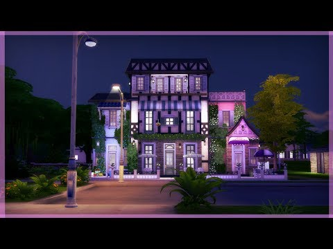 The Sims 4 Build | Rose Street Café and Restaurant
