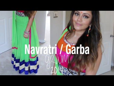 beauty & grooming by ethnico-n Navratri/Garba GRWM | Kaushal Beauty