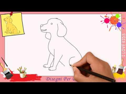 Disegni di cane 2 - Come disegnare un cane FACILE passo per passo per bambini