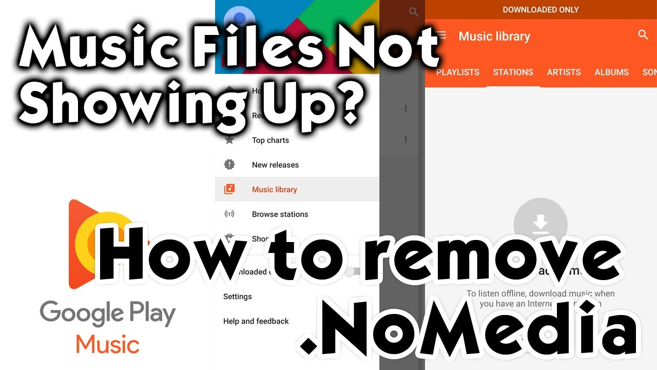 How To Find And Remove Nomedia File From Music And Video Folders On Android Phones Youtube