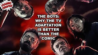 The Boys: Why the TV Adaptation is Better than the Comic