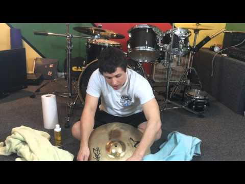 How To Clean Drum Cymbals - A Simple How To