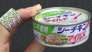 Canned Food & Replica Ring 2 缶詰リング はごろもフーズ