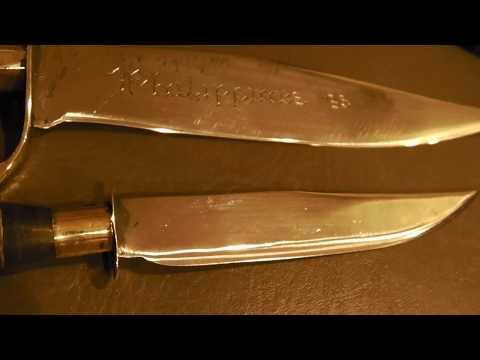Restoring - Clean Up - Carbon Blades - Sharpening - Ruff Bay