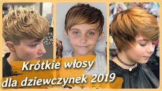 Top 20 najlepszy 🎀 fryzury na krótkie włosy dla dziewczynek 2019