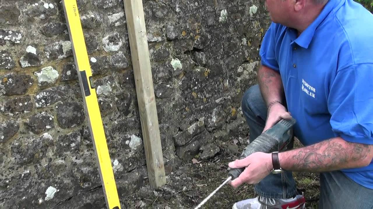 How To Use Frame Fixings And Hammer Fixings Youtube