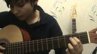 как научиться играть на гитаре красивую мелодию видеоурок