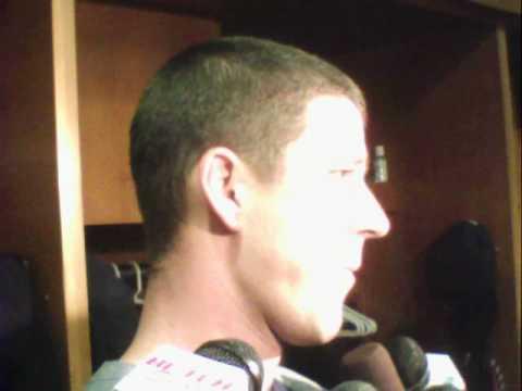 Drew Smyly Tigers Starter postgame v s  Cleveland 6   05   2012